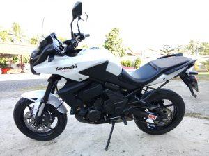 Kawasaki Versys 650 ปี 2012
